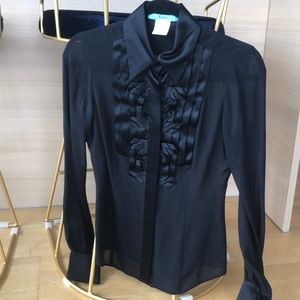 Marciano black blouse